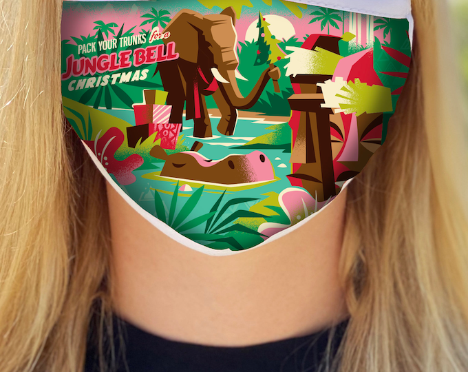 Jungle Bell Face Mask