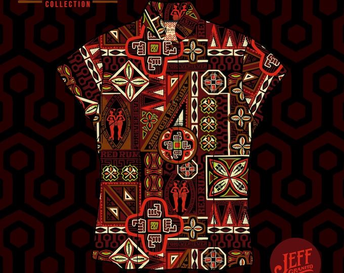 RedRum Aloha Women's Shirt, Limited Edition PRE SALE ONLY-Free Matching Face Mask, Free Shipping, Jeff Granito