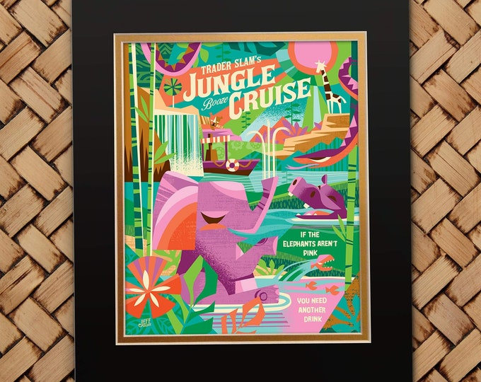 Jungle Cruising Print