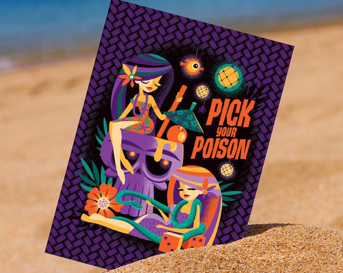 Pick Your Poison 5 x 7 Mini Print