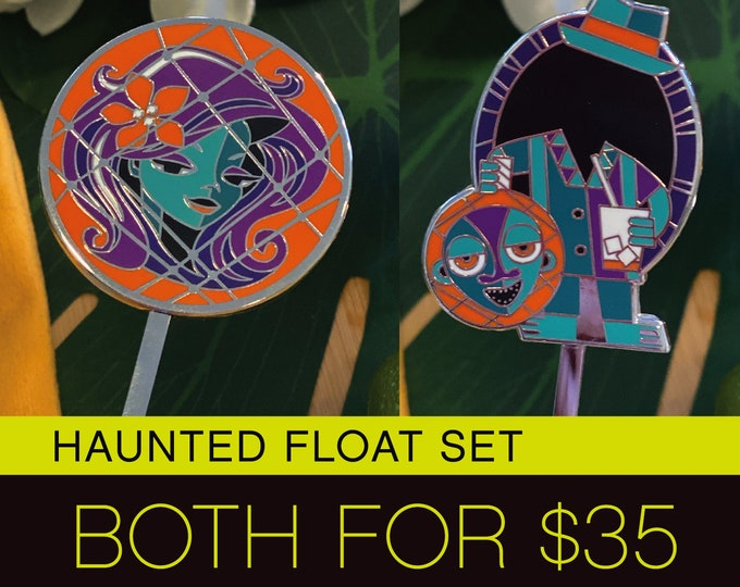 Haunted Float Swizzle Set