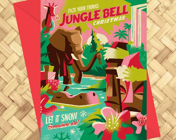 Jungle Bell Greeting Card