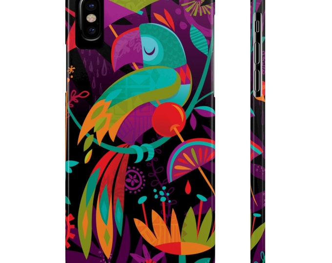 Aloha Garden By Jeff Granito Slim Phone Case