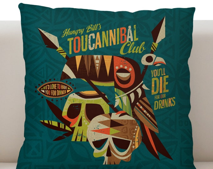 Toucanible Pillow Cover