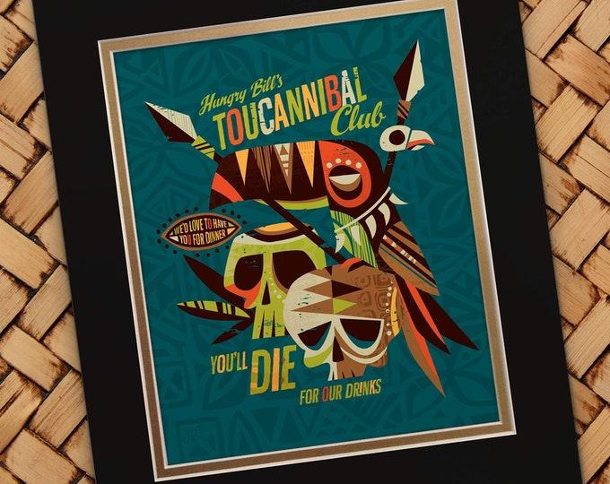 Toucanible Print
