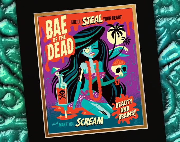 Bae Of The Dead Print
