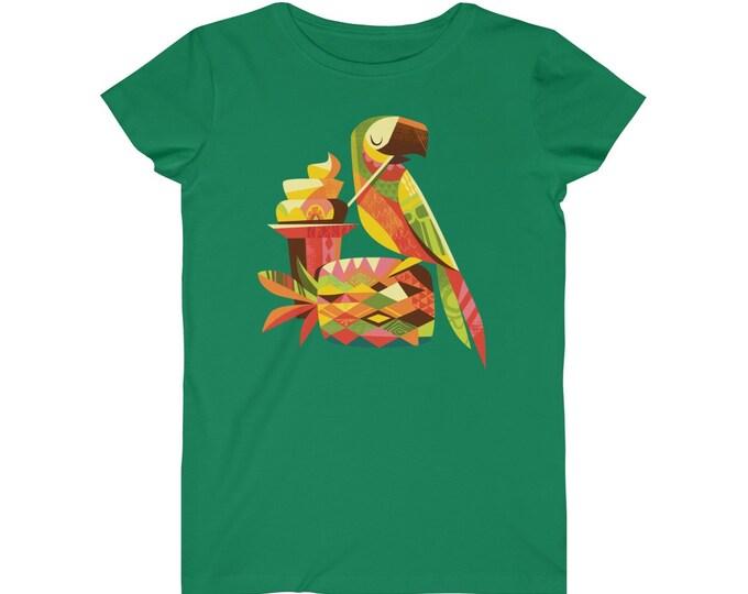 Parrotdise WomenS Fine Jersey Tee