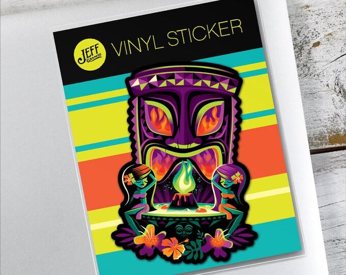 The Offering Vinyl Sticker