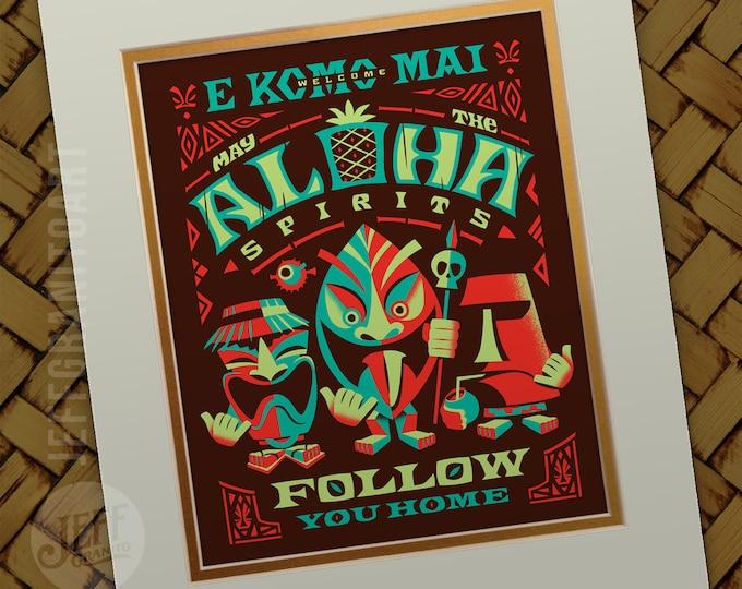 Aloha Sprits Bright Print
