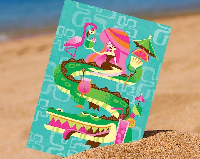 Floridaloha Postcard