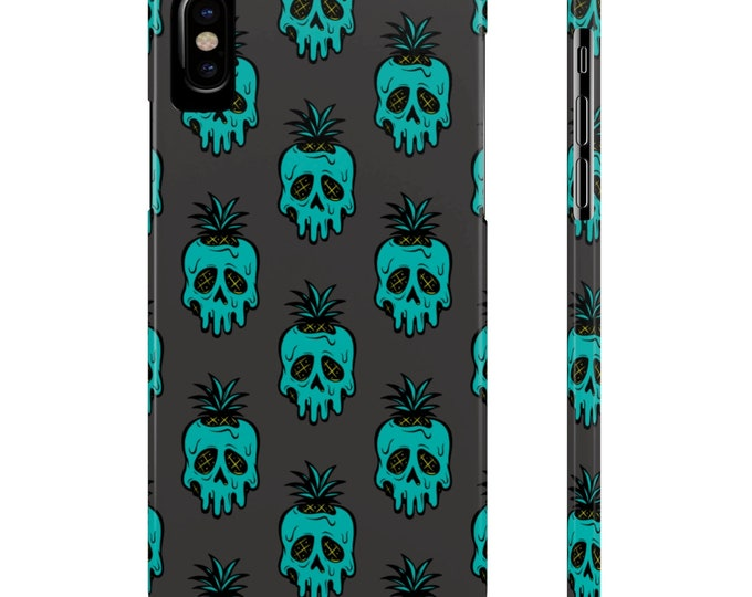 Poison Pineapple Slim Phone Case