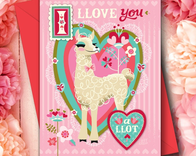 I Llove You Valentine Card