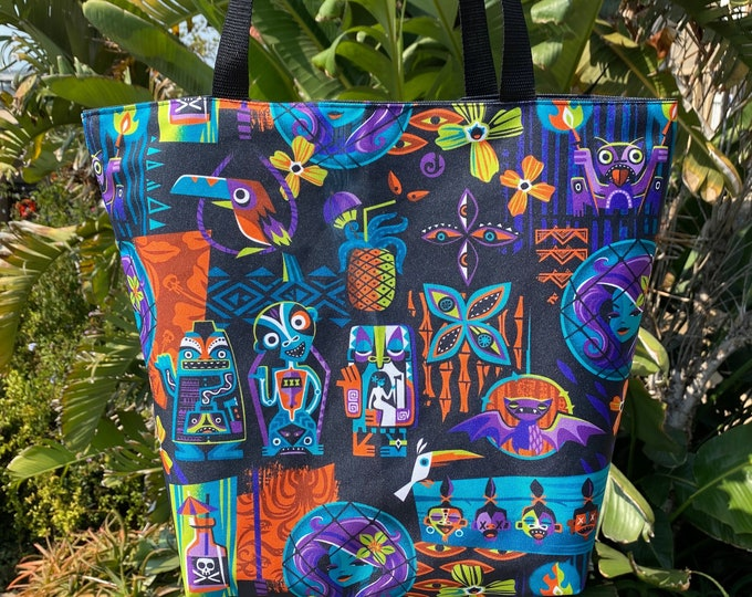 END OF September Pre-Order Reversible Calling All Spirits/Haunted Float Tote, Ships end of September