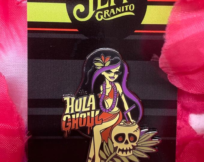 Hula Ghoul Pin
