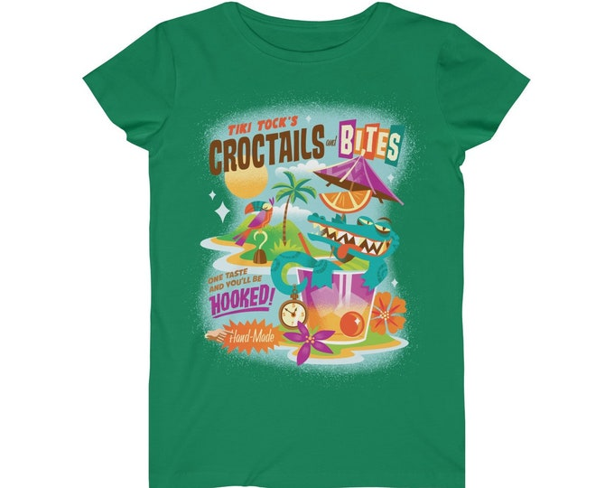 Tiki Crocktails WomenS TShirt