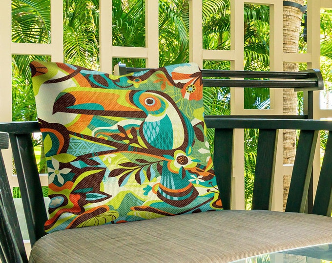 Outdoor Pillow Cover, Island Canopy