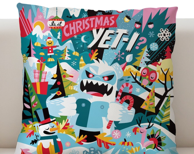 Is It Christmas Yeti? Pillowcase