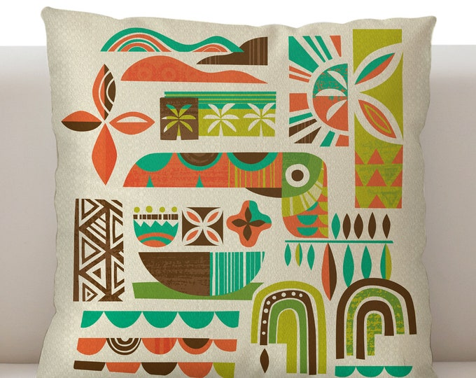 Toucan Breeze Pillow Cover