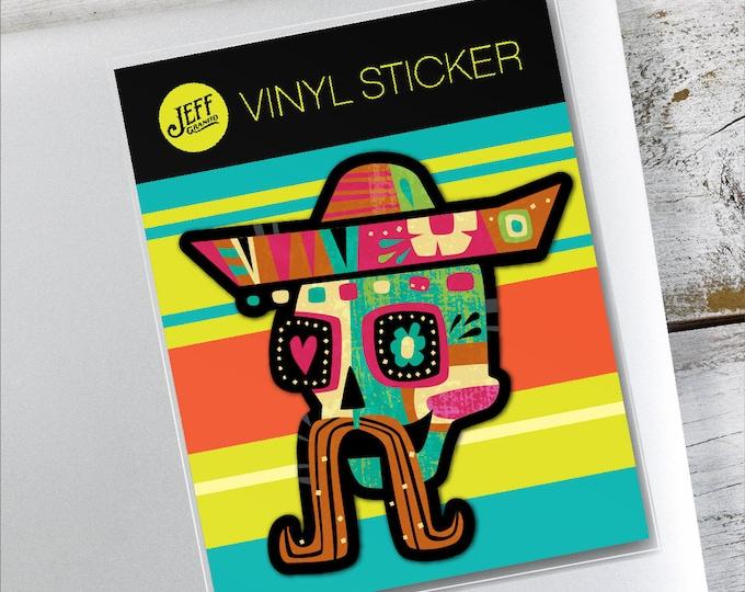 Dia De Los Churros Vinyl Sticker