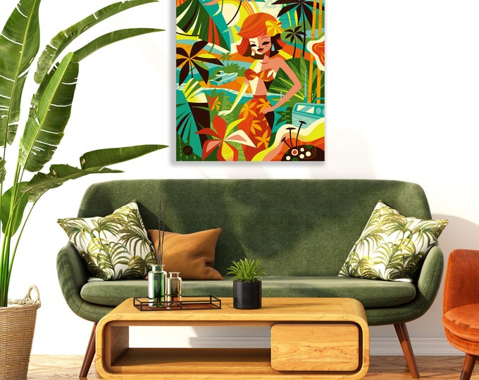 Autographed Gallery Canvas Giclee, The Movie Star, Domestic Shipping Included