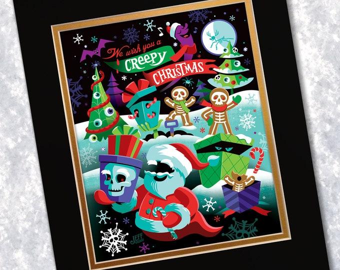 Creepy Christmas Print