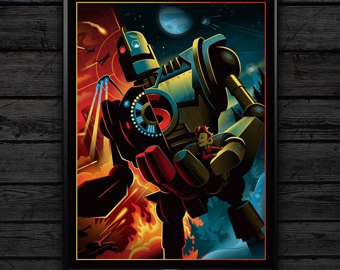 Iron Giant Poster Print