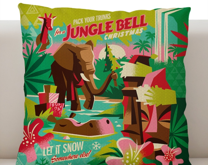 Jungle Bell Pillow Cover