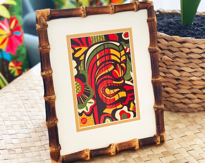 Bamboo frame 8 x 10 Inchs, Dark