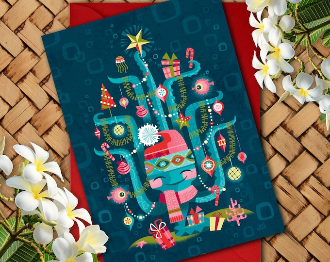 Oh Christmas Sea Greeting Card