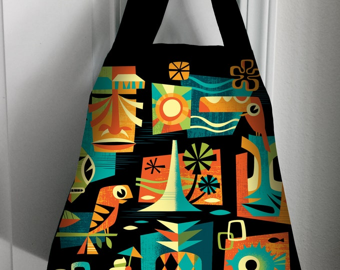 Tiki Summer Tote bag