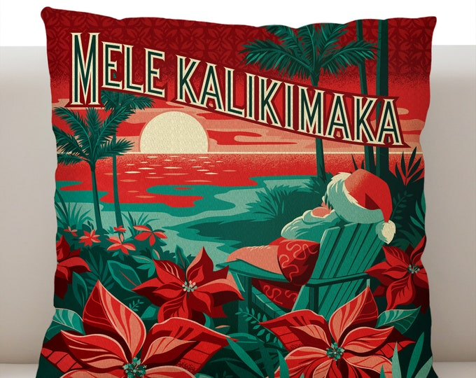 Mele Kalikimaka Pillowcase