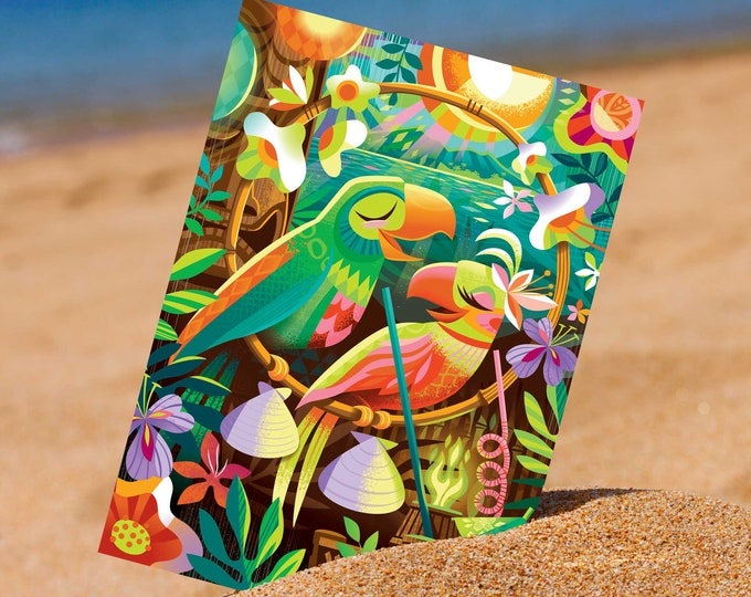 Birds Of A Feather Mini Print