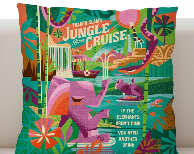 Jungle Cruise Pillowcase