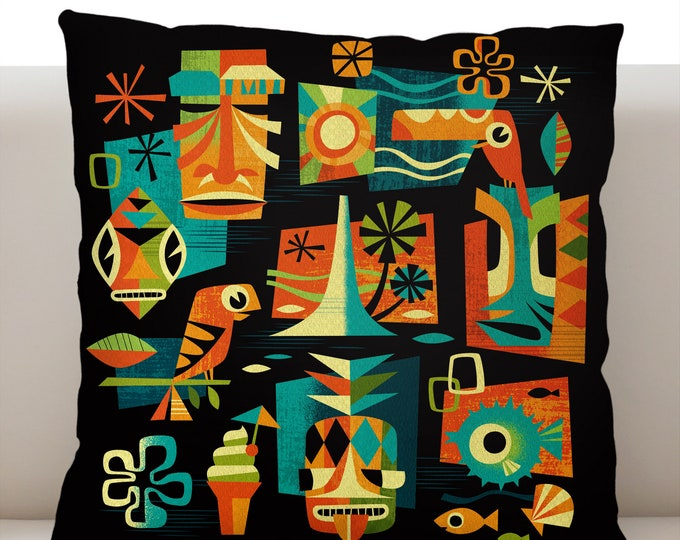 Tiki Nights Pillowcase