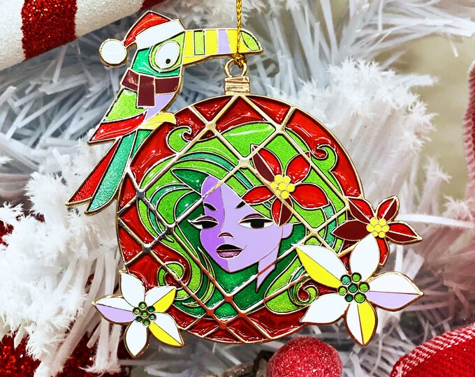 Haunted Float Cloisonné Holiday Ornament