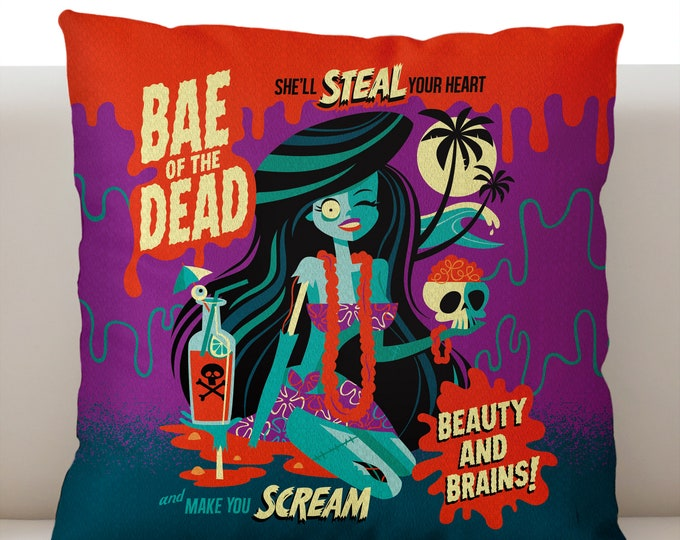 Bae of the Dead Pillow Cover