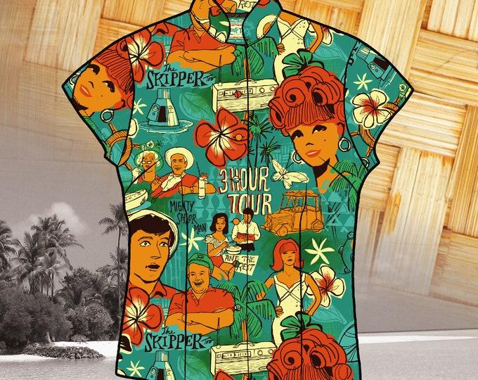 LAST CHANCE, Three Hour Tour 1st Edition Women's Aloha Shirt
