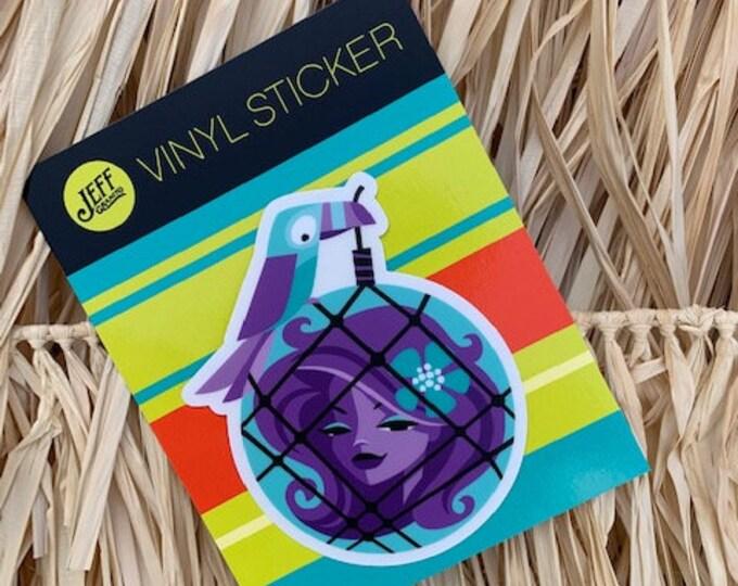 Afloat Vinyl Sticker