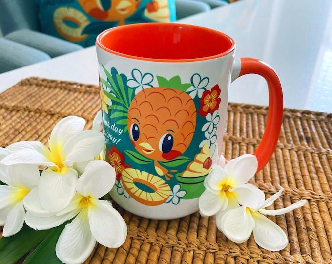 Californi-Aloha Bird Ceramic 15 oz Mug