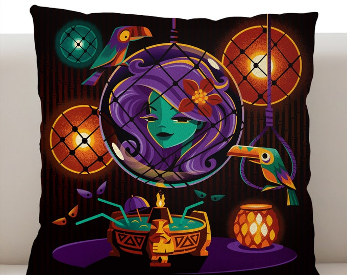 Haunted Float Pillow Cover
