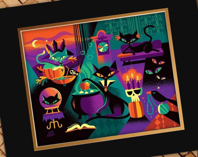 Cat's Black Magic Print