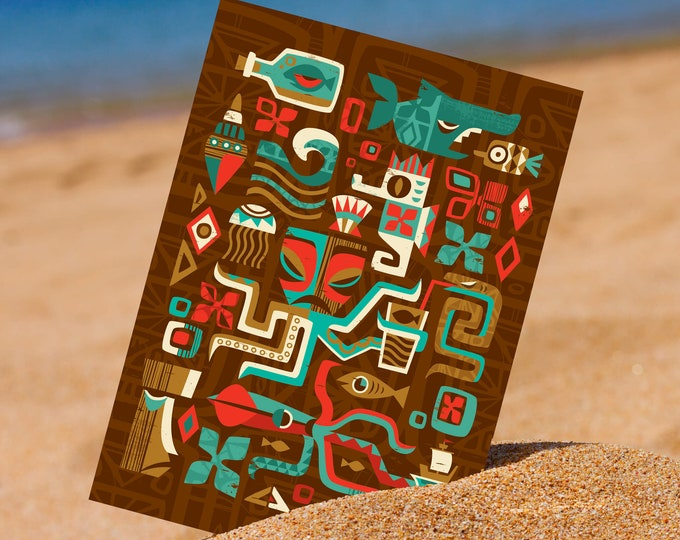 Sealife Mini Print
