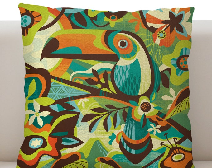 Island Canopy Pillow Cover