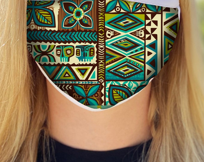 Distant Drums Face Mask