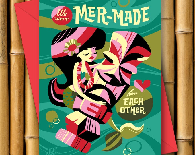 Mer Made For You Greeting Card