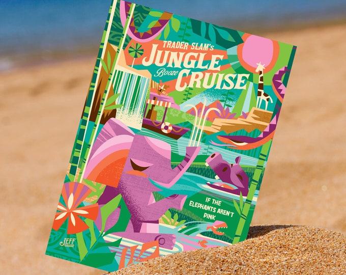 Jungle Cruising Mini Print