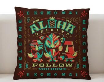 Aloha Spirits Bright Pillowcase