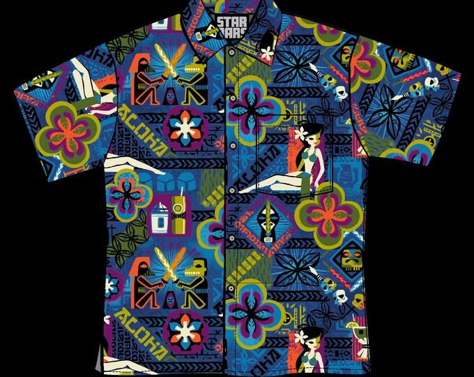 Last Chance, Unisex Star Bars Aloha Shirt