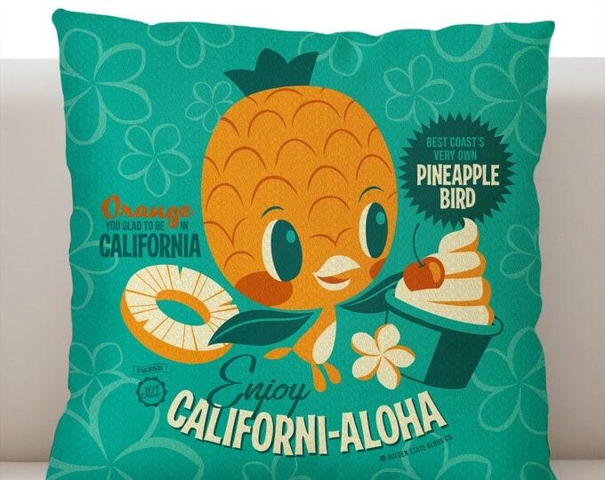 Californi-Aloha Pillow Cover