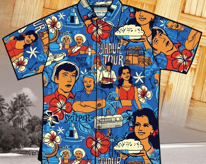 Final Sale, Three Hour Tour 2nd Edition Unisex Aloha Shirt